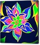 Couleur Epanouie Canvas Print