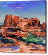 Courthouse Butte Rock - Sedona Canvas Print