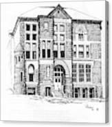 Courthouse Helena Montana Canvas Print