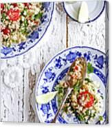Couscous Salad Canvas Print