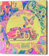 Crafty Car Commercial Canvas Print