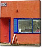 Cranberry Barber Shop Canvas Print