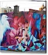 Creative Splash Of Artwork Canvas Print