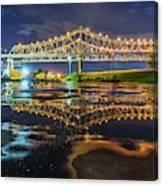 Crescent City Reflection Canvas Print