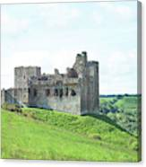 Crighton Castle In Summer Canvas Print