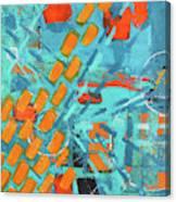 Cross Town Traffic 2 Canvas Print