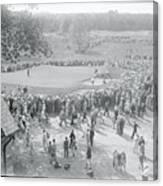 Crowd Watching Bobby Jones During Golf Canvas Print