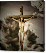 Crucifix And Hope Canvas Print