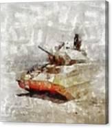 Crusader Tank, World War Two Canvas Print
