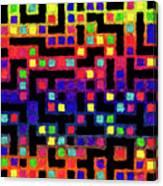 Cubicle Farm Canvas Print