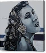 Cuenca Murals - Osmara De Leon Canvas Print