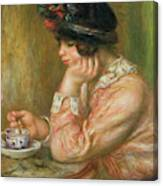 Cup Of Chocolate, 1914  Canvas Print