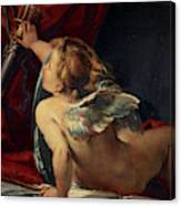 Cupid, 1620 Canvas Print