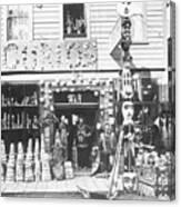 Curio Store Canvas Print