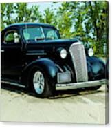 Custom 1937 Chevrolet Coupe Canvas Print