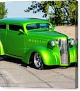 Custom 1938 Chevrolet 2 Door Coach  Canvas Print