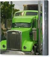 Custom Green Boca Canvas Print