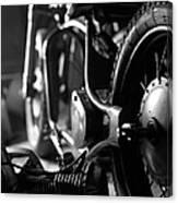 Custom Motorcycle Canvas Print
