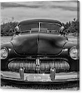Customized 1950 Mercury In Bw Canvas Print