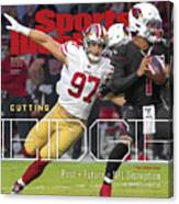 Cutting Edge The 49ers Way Sports Illustrated Cover Canvas Print