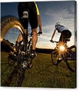 Cycling Adventure Canvas Print