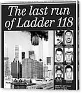 Daily News Front Page Dated Oct. 5 Canvas Print