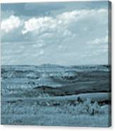 Dakota Grassland Shadows Canvas Print