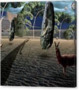Dali's Llama Canvas Print