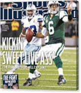 Dallas Cowboys V New York Jets Sports Illustrated Cover Canvas Print