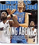 Dallas Mavericks V Miami Heat - Game Six Sports Illustrated Cover Canvas Print
