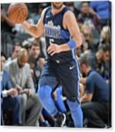 Dallas Mavericks V San Antonio Spurs Canvas Print