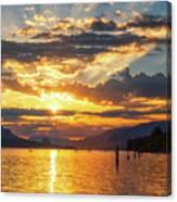 Dalton Point Sunrise Canvas Print
