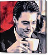 Damn Fine Cup Of Coffee Canvas Print