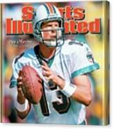 Dan Marino Hall Of Fame Class Of 2005 Sports Illustrated Cover Canvas Print