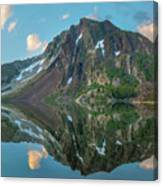 Dana Plateau From Ellery Lake, Sierra 1 Canvas Print