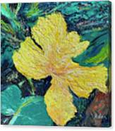 Dancing Flower Canvas Print