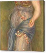 Dancing Girl With Castanets, 1909 Canvas Print