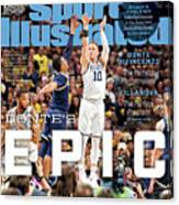 Dantes Epic Donte Divincenzo, The Perfect Performance Sports Illustrated Cover Canvas Print
