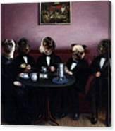 Dapper Dogs Canvas Print