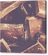 Dark Chocolate Delight Canvas Print