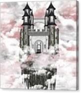 Dark Romantic Castle Canvas Print