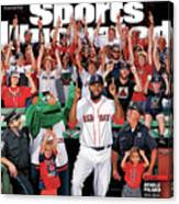 David Ortiz, Designated Editor Before He Retires Big Papi Sports Illustrated Cover Canvas Print