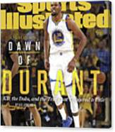 Dawn Of Durant Kd, The Dubs, And The Text That Triggered A Sports Illustrated Cover Canvas Print