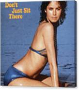 Dayle Haddon Swimsuit 1973 Sports Illustrated Cover Canvas Print