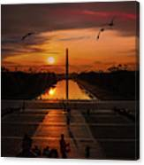 Dc Sunrise Canvas Print