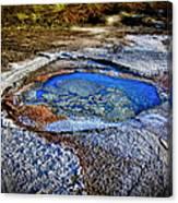 Dead Sea Sink Holes Canvas Print