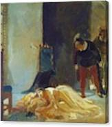 Death Of Imelda Lambertatstsi Canvas Print