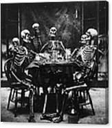 Deathly Diners Canvas Print