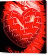 Decorated Romance Canvas Print