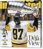 Deja View. The Stanley Cup Look Familiar Sports Illustrated Cover Canvas Print